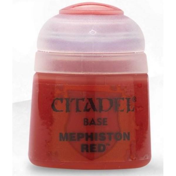 Citadel Base Paints - Mephiston Red
