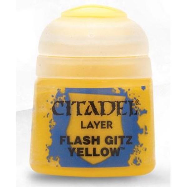Citadel Layer Paint - Flash Gitz Yellow