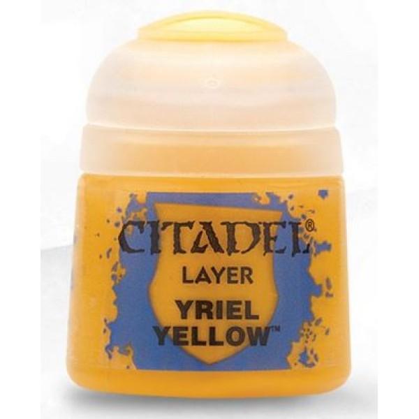Citadel Layer Paint - Yriel Yellow