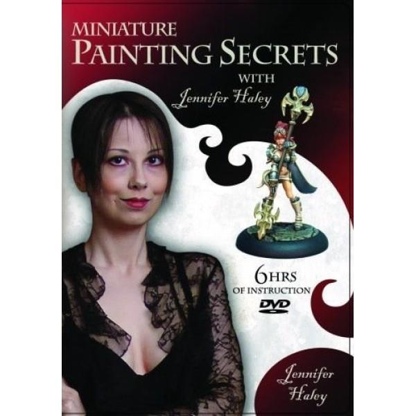 Miniature Painting Secrets with Jennifer Haley