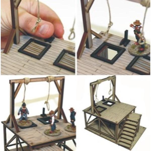 4Ground Terrain - Wild West - Feature Building - Hangman's Gallows