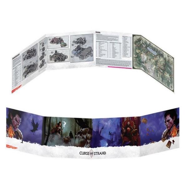 D&D - 5th Edition - Curse of Strahd - DM Screen