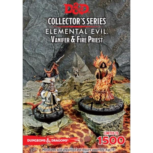 D&D - Collector's Series - Elemental Evil - Vanifer & Fire Priest