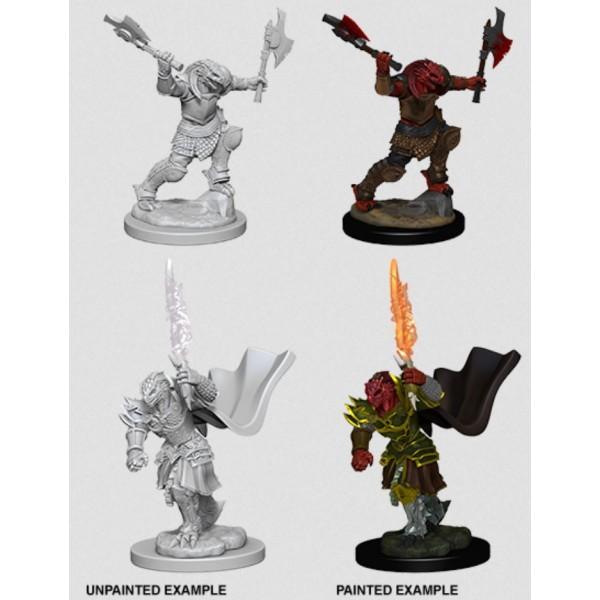 D&D - Nolzur's Marvelous Unpainted Minis: Dragonborn Female Fighter