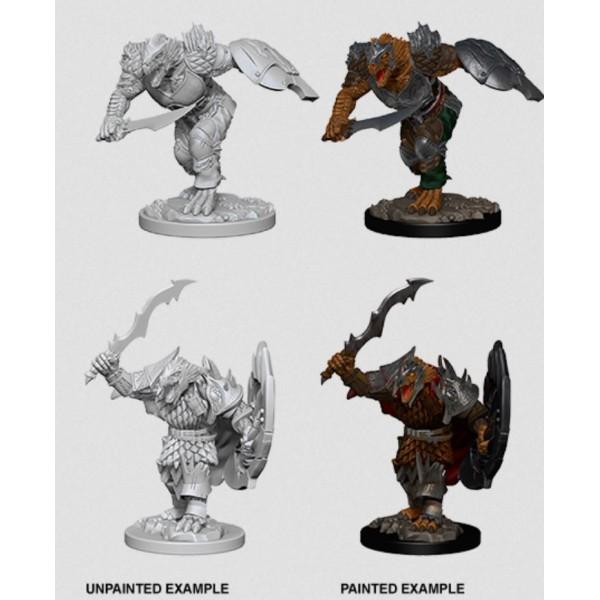 D&D - Nolzur's Marvelous Unpainted Minis: Dragonborn Male Fighter
