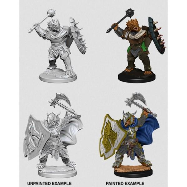 D&D - Nolzur's Marvelous Unpainted Minis: Dragonborn Male Paladin
