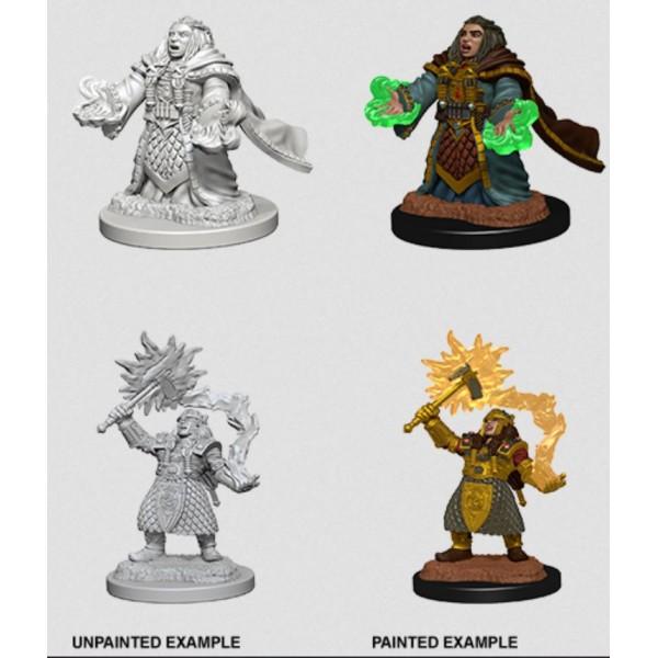 D&D - Nolzur's Marvelous Unpainted Minis: Dwarf Female Cleric