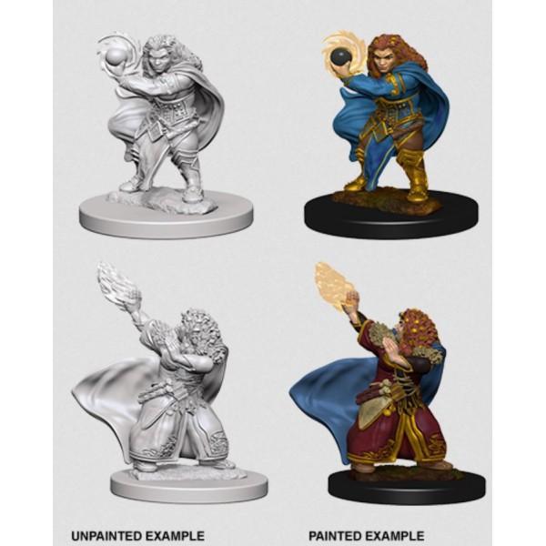 D&D - Nolzur's Marvelous Unpainted Minis: Dwarf Female Wizard