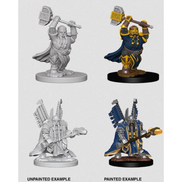 D&D - Nolzur's Marvelous Unpainted Minis: Dwarf Male Paladin