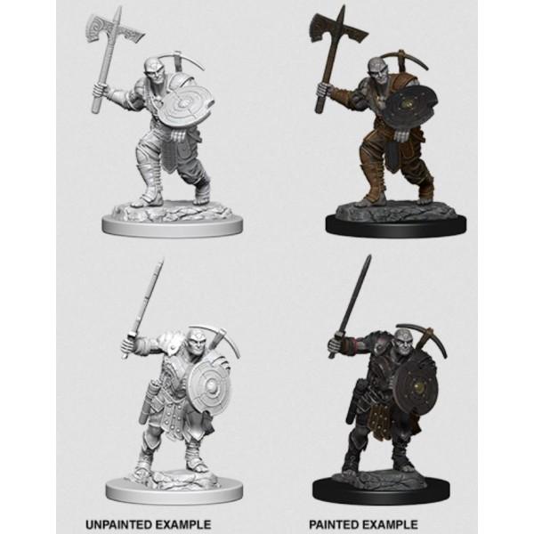 D&D - Nolzur's Marvelous Unpainted Minis: Earth Genasi Male Fighter