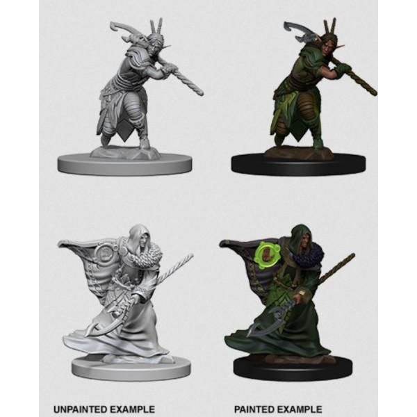 D&D - Nolzur's Marvelous Unpainted Minis: Elf Male Druid