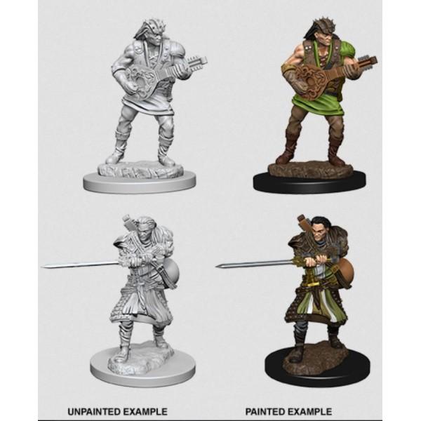 D&D - Nolzur's Marvelous Unpainted Minis: Human Male Bard