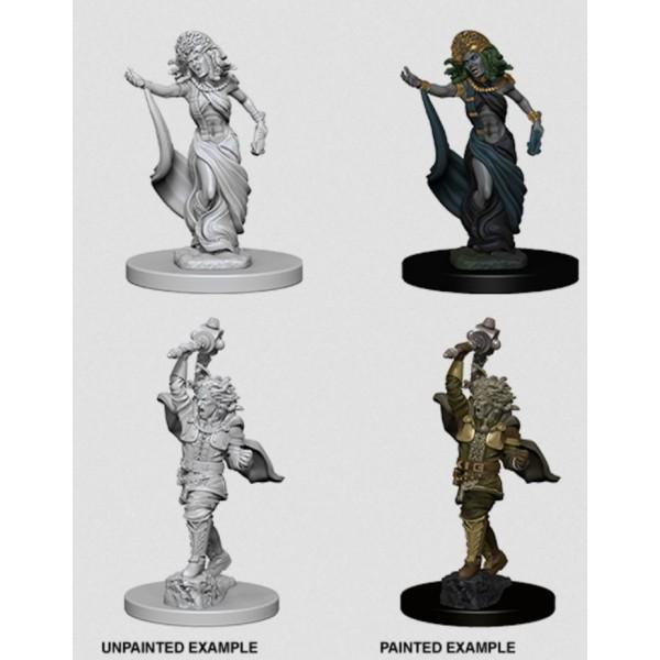 D&D - Nolzur's Marvelous Unpainted Minis: Medusas