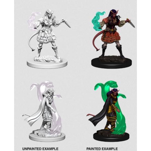 D&D - Nolzur's Marvelous Unpainted Minis: Tiefling Female Sorcerer