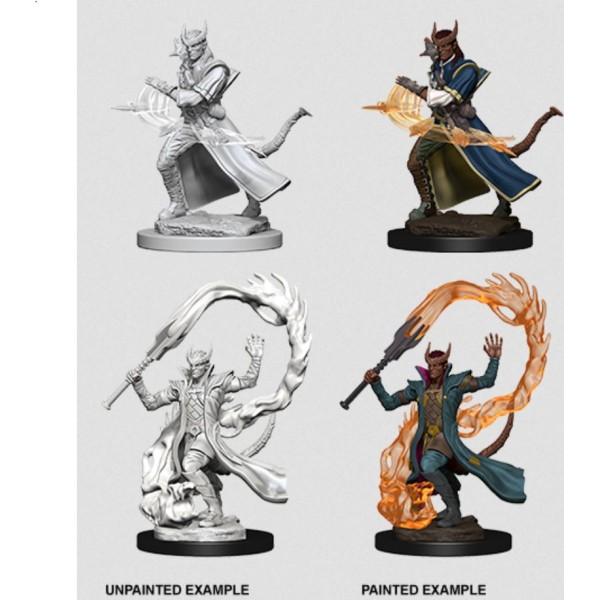 D&D - Nolzur's Marvelous Unpainted Minis: Tiefling Male Sorcerer