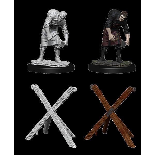 Pathfinder - Deep Cuts Unpainted Miniatures: Assistant & Torture Cross