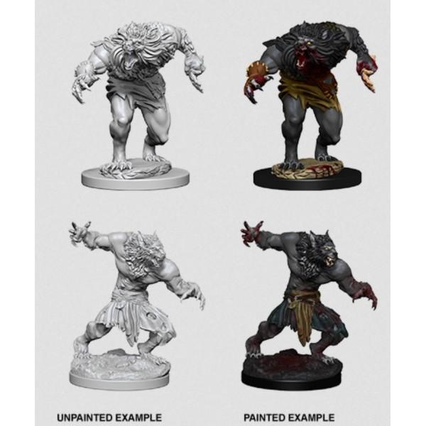 D&D - Nolzur's Marvelous Unpainted Minis: Werewolves