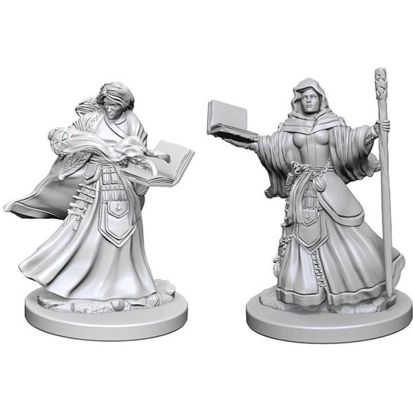 D&D - Nolzur's Marvelous Unpainted Minis: Human Female Wizard
