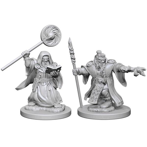 D&D - Nolzur's Marvelous Unpainted Minis: Dwarf Male Wizard
