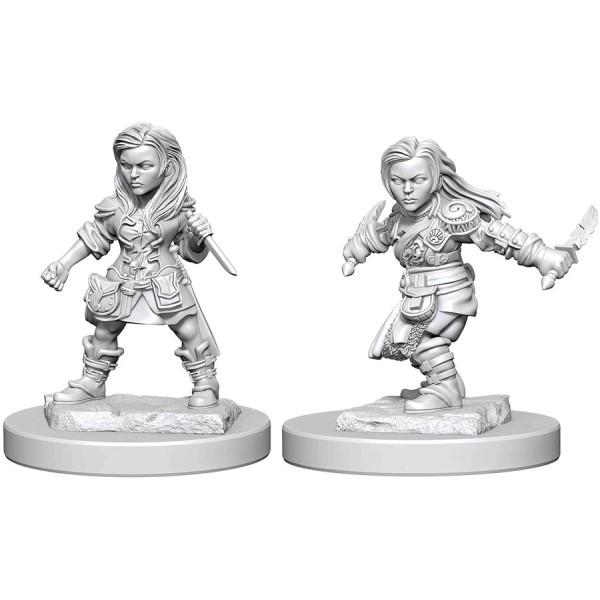 D&D - Nolzur's Marvelous Unpainted Minis: Halfling Female Rogue