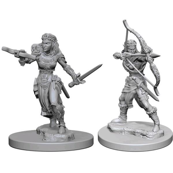 D&D - Nolzur's Marvelous Unpainted Minis: Elf Female Ranger