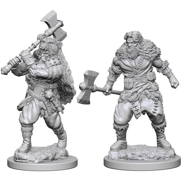 D&D - Nolzur's Marvelous Unpainted Minis: Human Male Barbarian