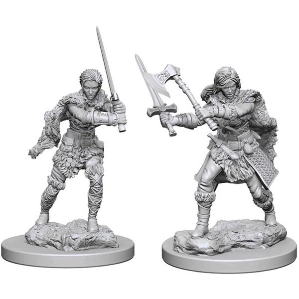 D&D - Nolzur's Marvelous Unpainted Minis: Human Female Barbarian