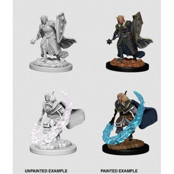 D&D - Nolzur's Marvelous Unpainted Minis: Elf Male Cleric