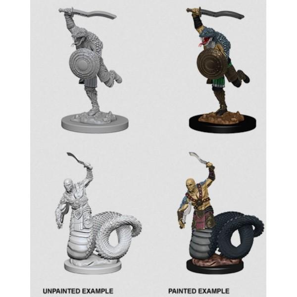 D&D - Nolzur's Marvelous Unpainted Minis: Yuan-Ti Malisons