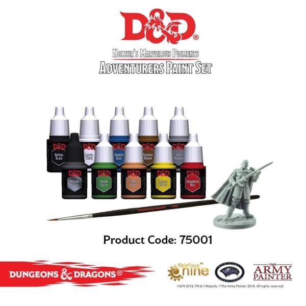 D&D - Nolzurs Marvelous Pigments - Adventurers Paint Set