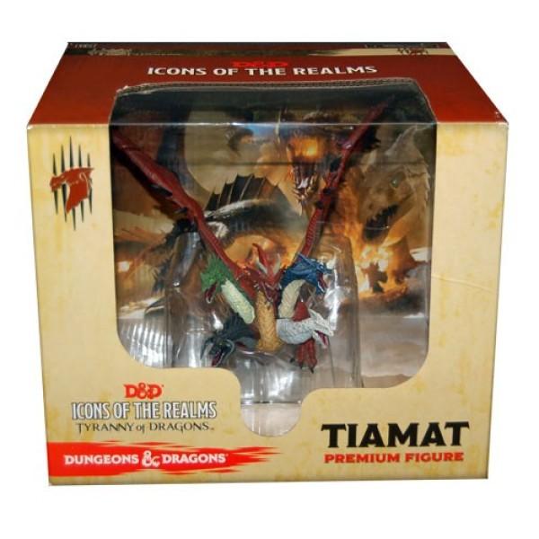 D&D Miniatures - Icons of the Realms - Tiamat - Premium Figure