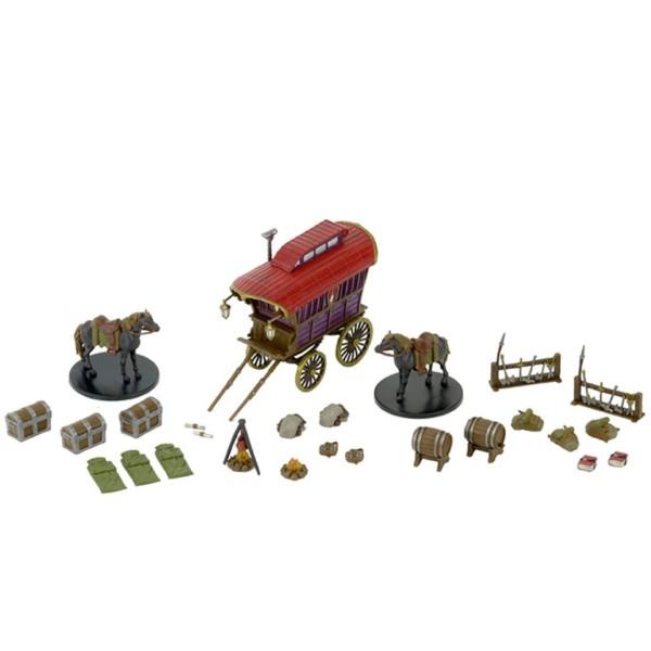 D&D Miniatures - Icons of the Realms Wave 6 - Adventurer's Camp - Premium Figure