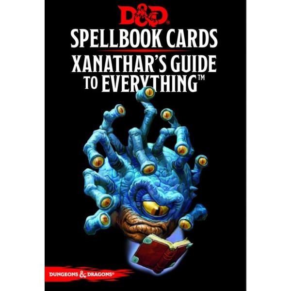 D&D - Spellbook Cards - Xanathars Deck