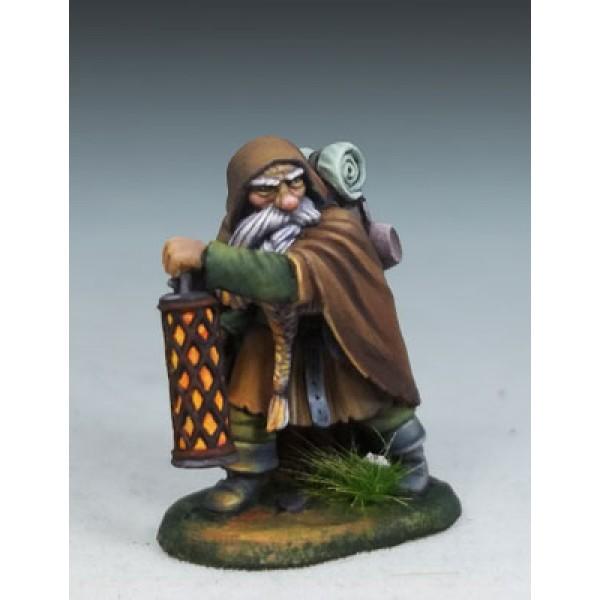 Dark Sword Miniatures - DiTerlizzi Masterworks - Grolsch, Dwarven Warrior