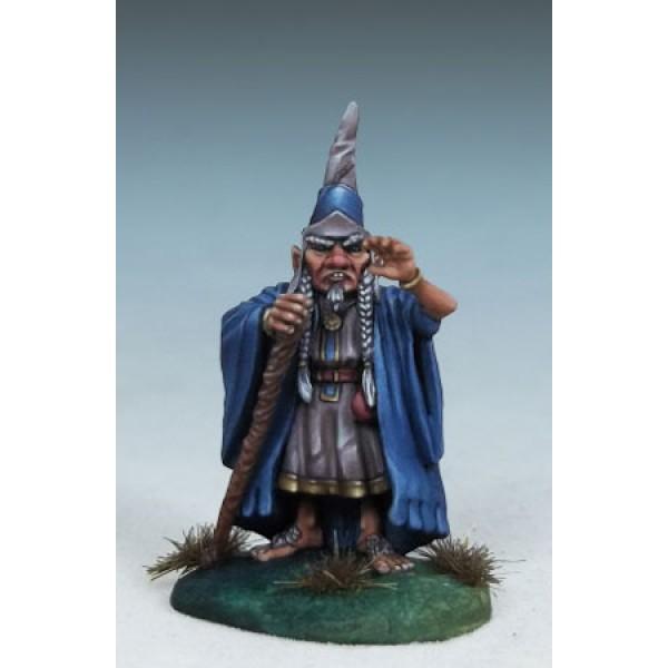 Dark Sword Miniatures - DiTerlizzi Masterworks - Barty the Magnificent, Halfling Wizard