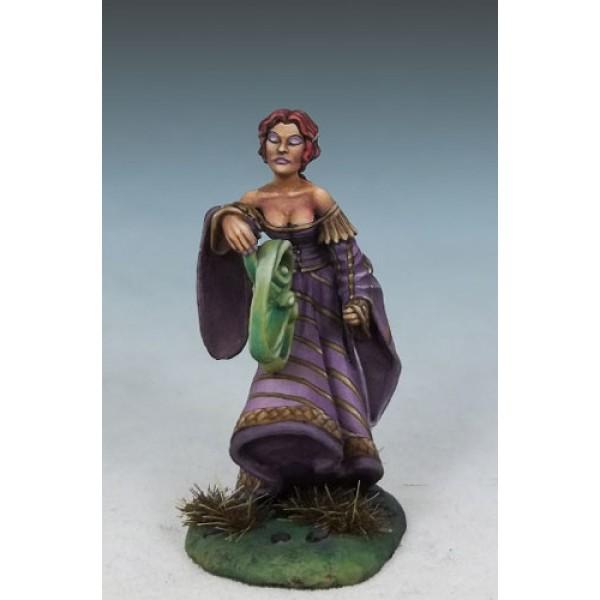 Dark Sword Miniatures - DiTerlizzi Masterworks - Ash Firefeather, Female Elven Mage