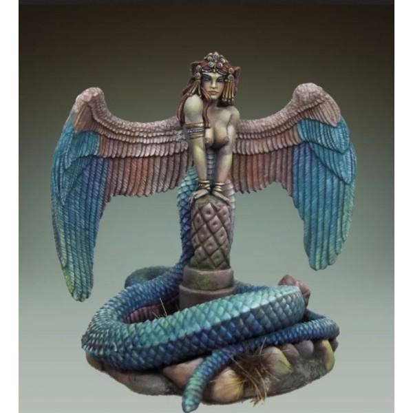 Dark Sword Miniatures - DiTerlizzi Masterworks - The Guardian Naga