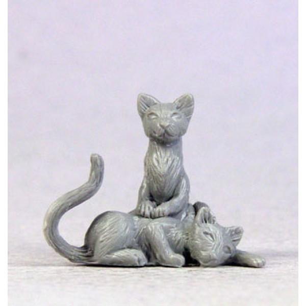 Dark Sword Miniatures - Stephanie Law Masterworks - Cat Pack - Cats x 7