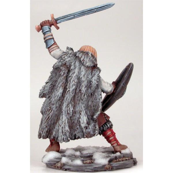 Dark Sword Miniatures - George R. R. Martin Masterworks - Wildling Warrior w/ Long Sword & Shield