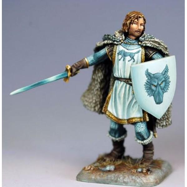 Dark Sword Miniatures - George R. R. Martin Masterworks - Robb Stark, The Young Wolf
