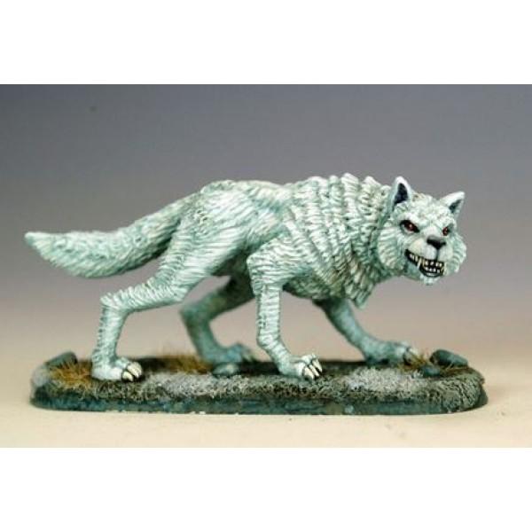 Dark Sword Miniatures - George R. R. Martin Masterworks - Ghost, Dire Wolf