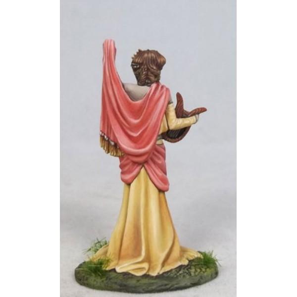 Dark Sword Miniatures - Stephanie Law Masterworks - Muse - Terpsichore with Harp