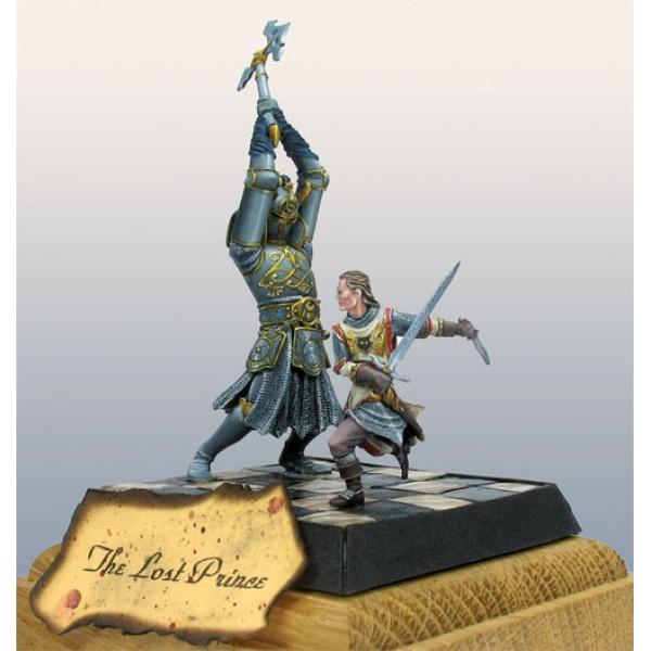 Dark Sword Miniatures - Parkinson Masterworks - Large Demon Knight