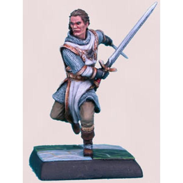 Dark Sword Miniatures - Parkinson Masterworks - Dual Wield Human Knight
