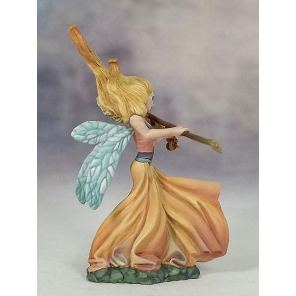 Dark Sword Miniatures - Stephanie Law Masterworks - Page of Wands - Female Fairy w/Critters