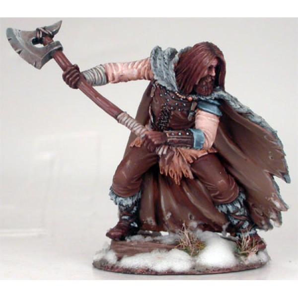 Dark Sword Miniatures - George R. R. Martin Masterworks - Wildling Warrior w/ Great Axe