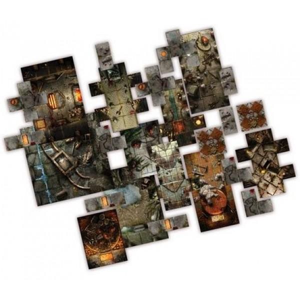 Dungeon Saga - Halls of Dolgarth Tile Pack