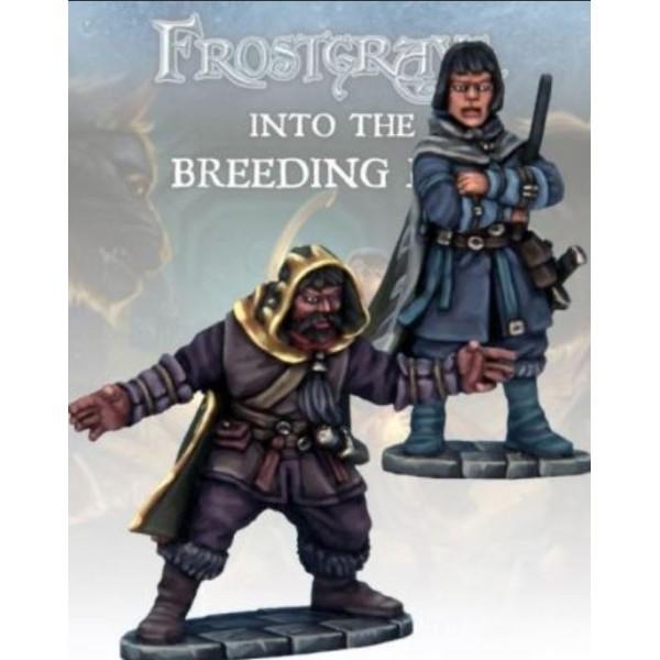 Frostgrave - Elementalist & Apprentice II