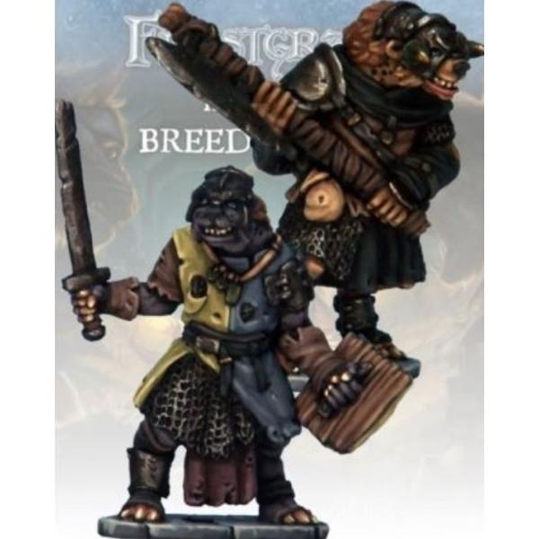Frostgrave - Gnoll Knight & Templar