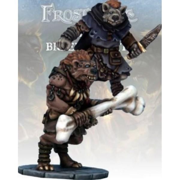 Frostgrave - Gnoll Thief & Barbarian